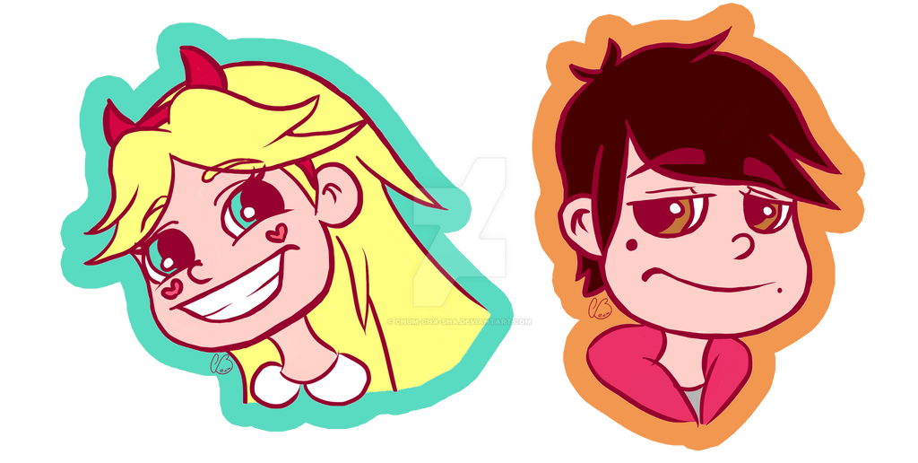 star vs the forces of evil stickers by chum cha sha on deviantart