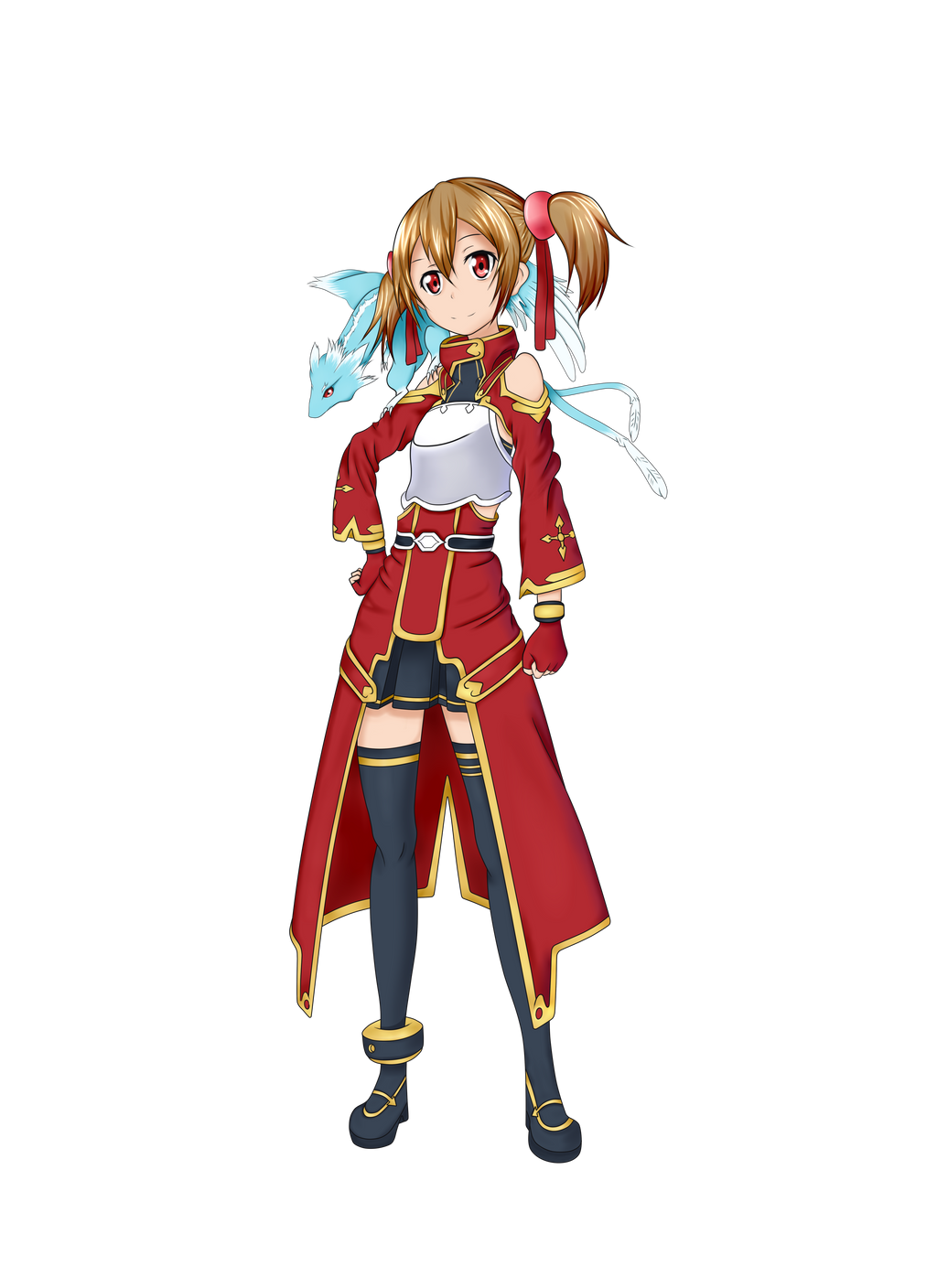Silica [no background] - Sword Art Online by Nekologia on ...