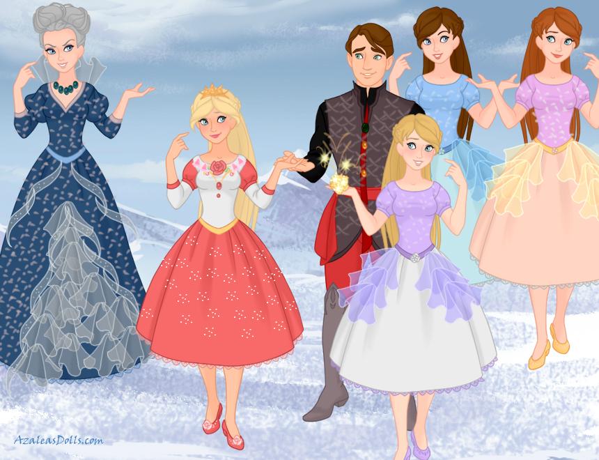 Barbie doll movies twelve dancing princesses pt 2 by zeldamlp on deviantart - Barbie and the 12 princesses ...