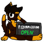 Alisha P. Commissions Open .:Stamp-PC:. by xWolf1584
