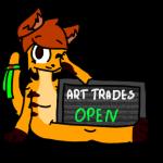 Olivia ArtTrades Open .:Stamp-PC:. by xWolf1584