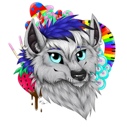 Zephyr themed headshot commission by Borkheart