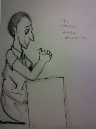 Day 12 - Worried by DeSpErAtE567