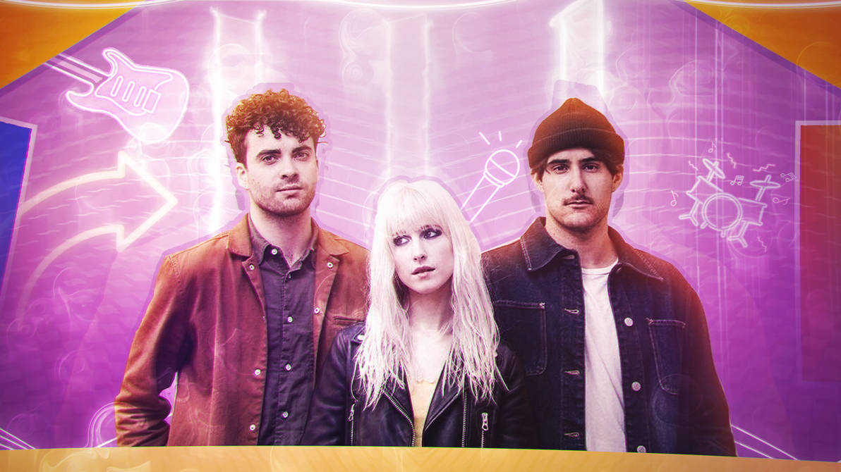Paramore - Wallpaper by JeanLuisEditions ...