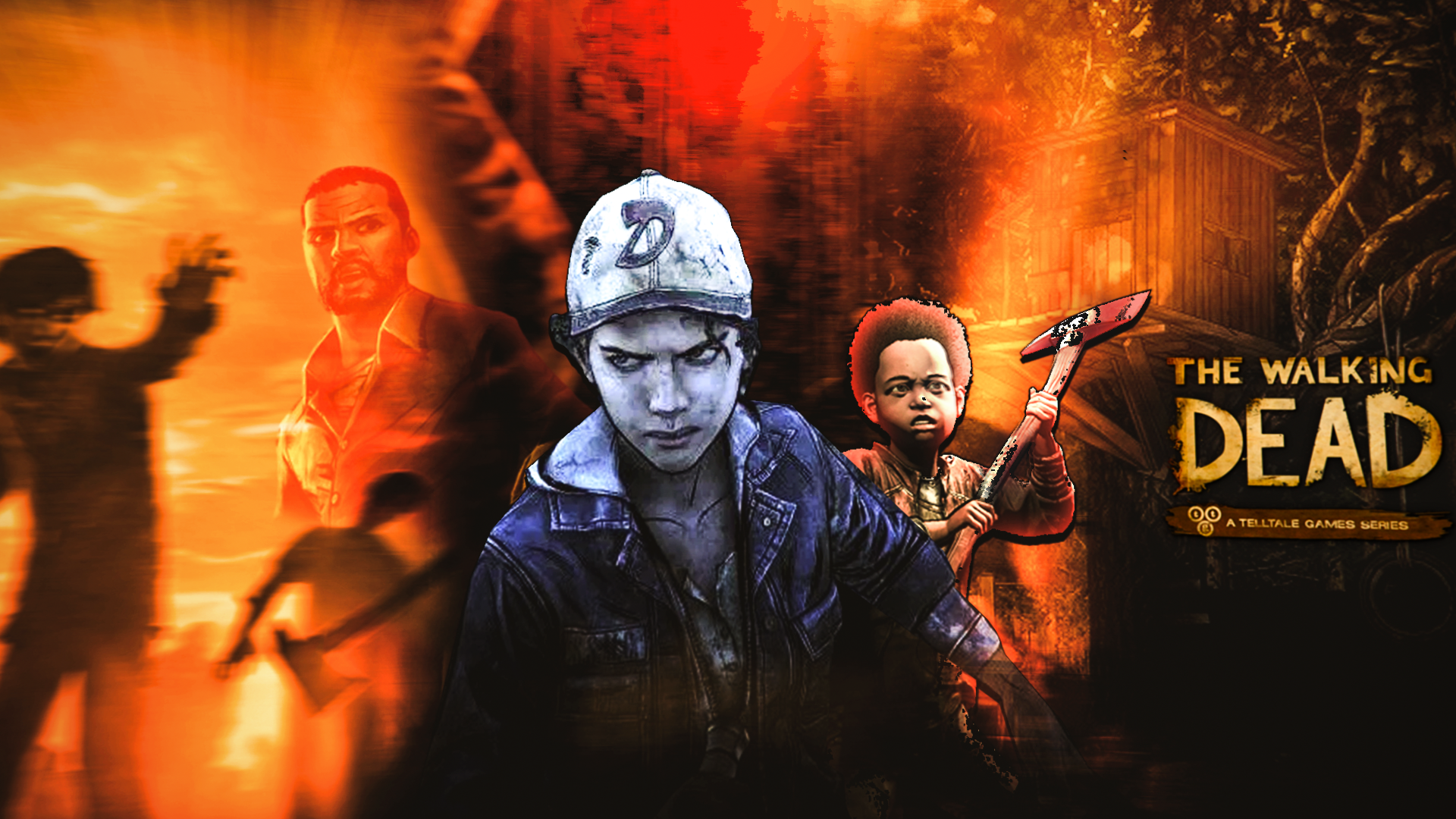 The Walking Dead Telltale Games Wallpaper By Jeanluiseditions On
