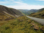 View down the Dyfi Valley