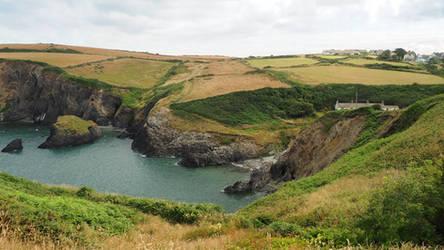 A coastal inlet