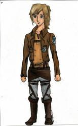Myself as a Survey Corps Member by Kotoni-Sukina
