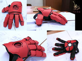 Iron Man Gauntlet by Omaiyee