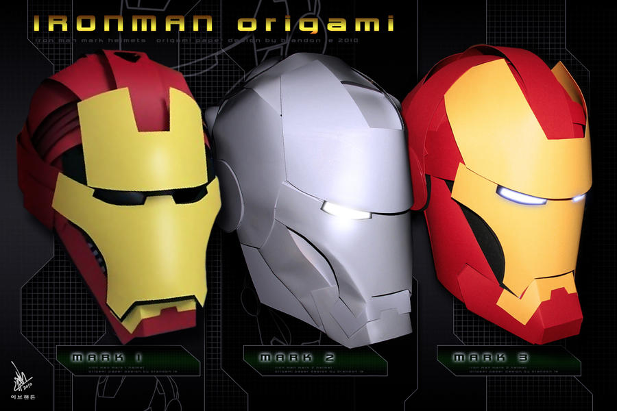 IRONMAN Origami By Omaiyee
