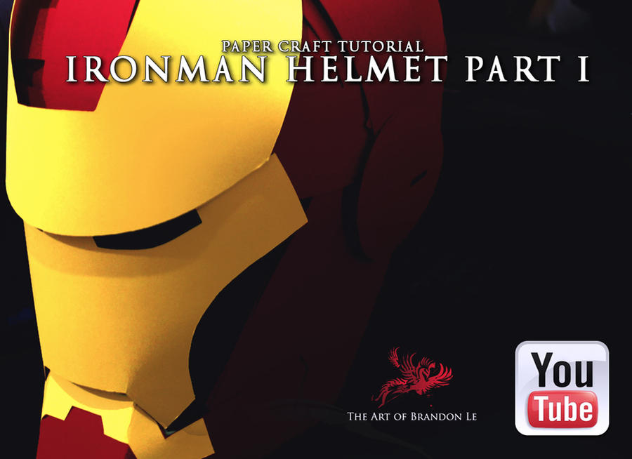 IRONMAN HELMET tutorial by Omaiyee
