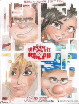 Wreck-it-ralph poster 2012