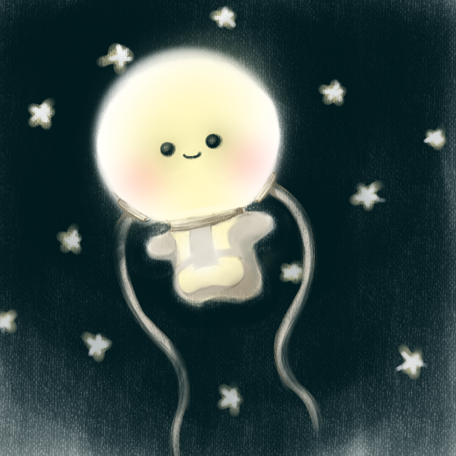 moon bulb by yldasrma