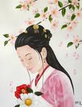 Pink Kimono by Merlin111