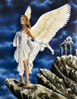 Angel of the Oracle by Merlin111