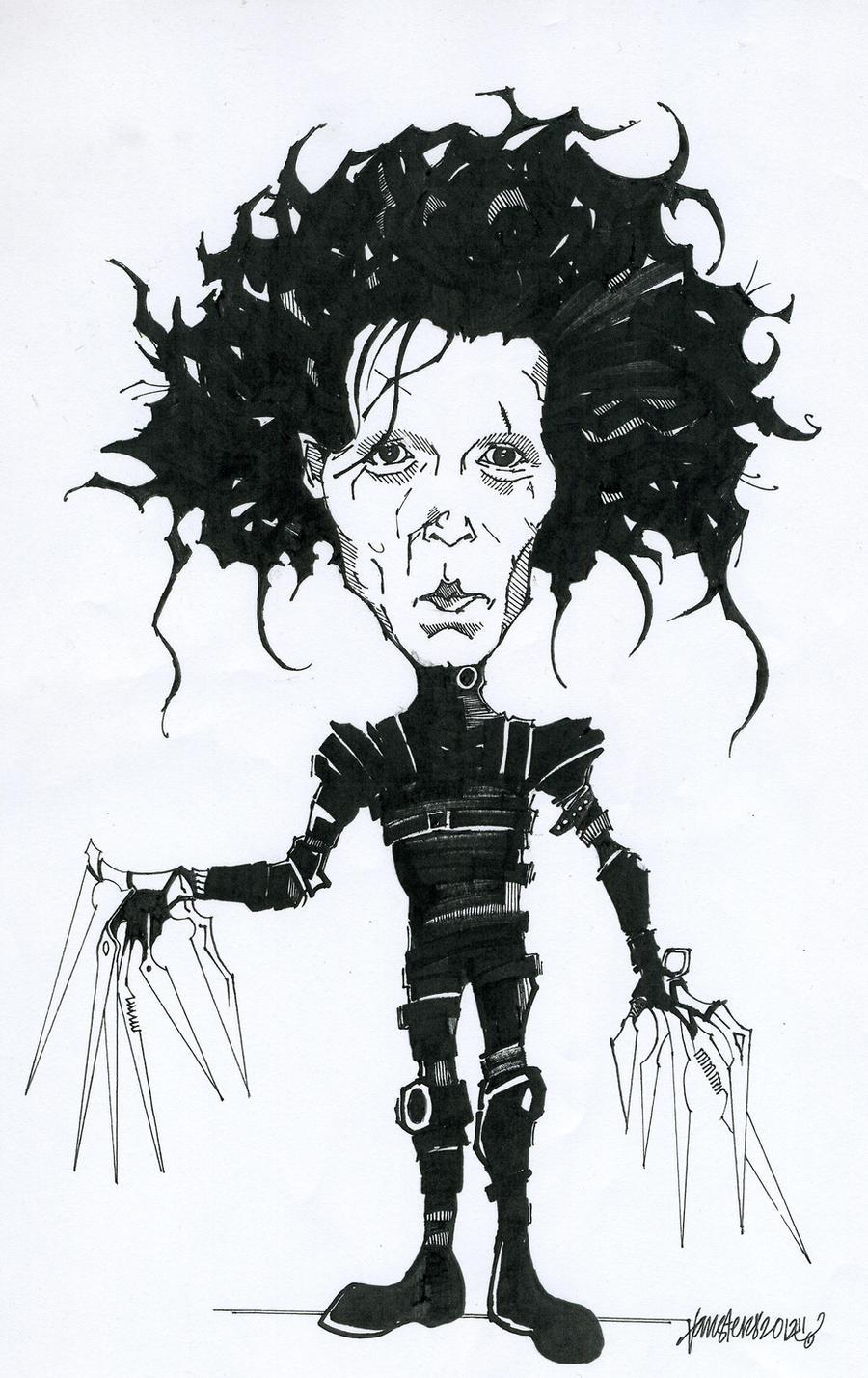 Edward Scissorhands Drawing :D