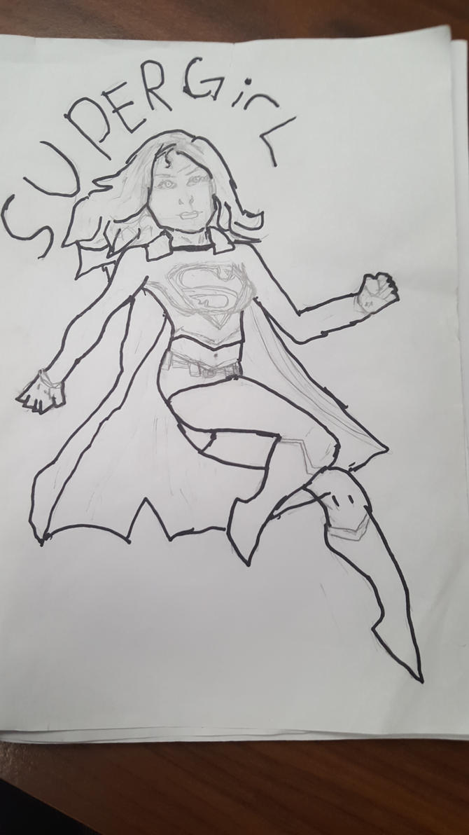 Supergirl by PJMarts1