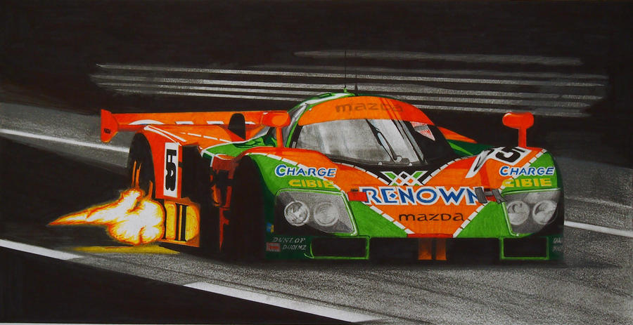 Mazda 787b Le Mans 1991 Winner By Olleandro On Deviantart