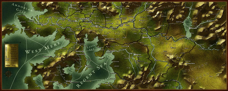 Fantasy World Map Take 2 by Echowinds on DeviantArt