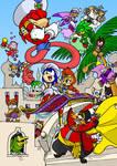 Sonic: Arabian Nights COLORED