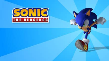 Wallpaper - Sonic Running