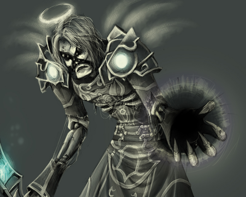 Shadow Priest By Pinali On DeviantArt
