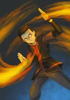 Avatar Aang by pinali