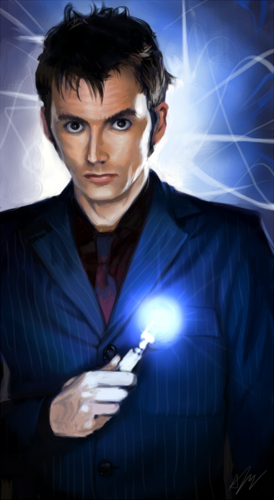 10th Doctor by pinali