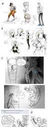 Portal 2 Sketchdump by pinali