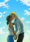 Blue Sky: Kisses