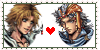 Firion x Tidus Stamp by Izzy-Chan99