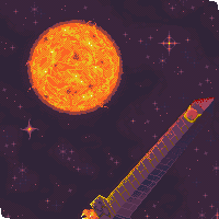 Space Obelisk by ChibiWing