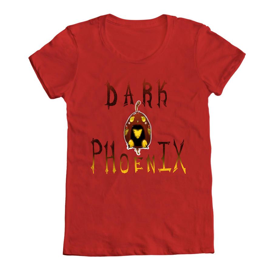Dark phoenix tshirt by chibiwing on deviantart for T shirt screen printing phoenix