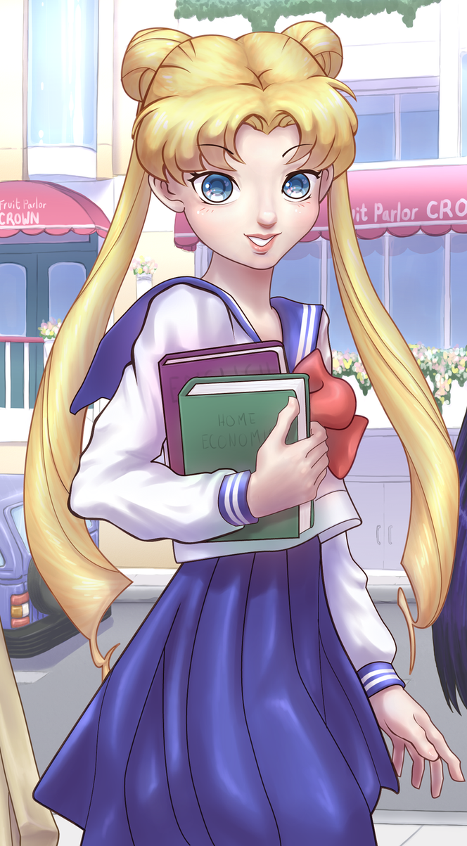 Sailor Moon Contest entry by ChibiWing