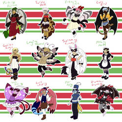 [OPEN] 12 Days of Christmas Adopts