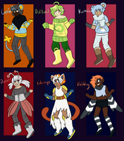 [OPEN] Pokemon Gijinkas