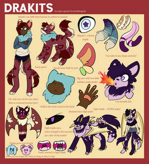 Drakits - Open Species Info