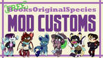 [31/93 OPEN] Free BOS Customs!! by bookfanadopts