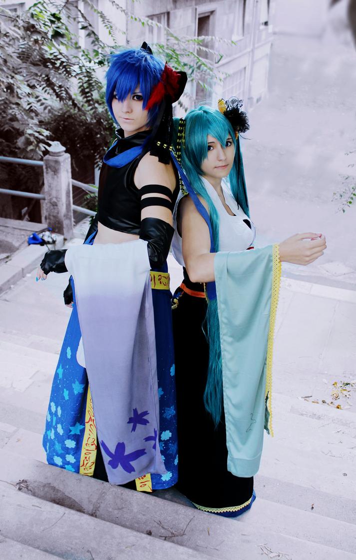 Setsugetsuka - Kaito and Miku by TemeSasu