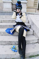 Ciel Phantomhive - Scared by TemeSasu