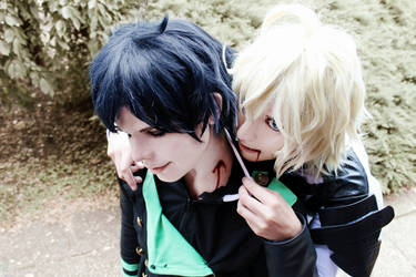 Mika and Yuu by TemeSasu