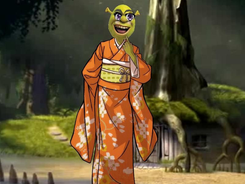 Anime Shrek By Moderenart On Deviantart