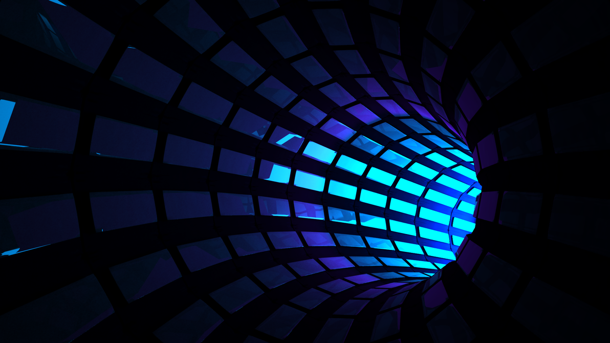 Tunnel of rectangles by DarthAcey