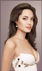 Angelina Jolie II by mari-angel
