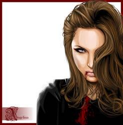 Bloody Angelina by mari-angel