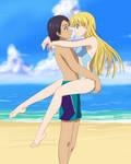 High School DXD - Summer Beachside Romance