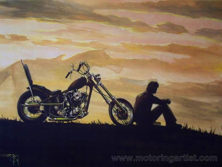 Cowboy Dreams by MotoringArtist