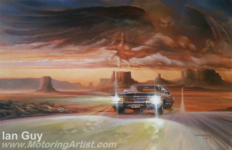 Supernatural by MotoringArtist