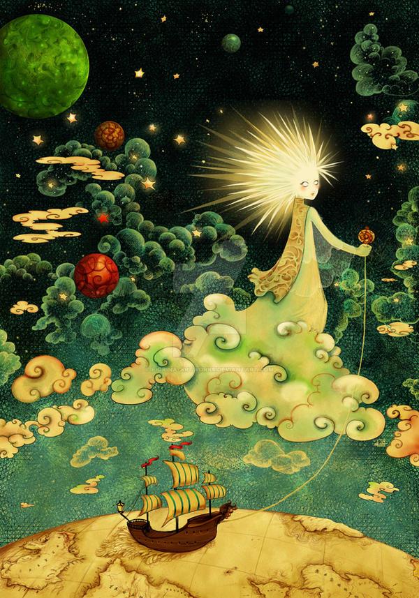Polaris by Fiorina-Artworks