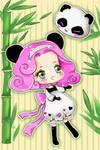 Chibi Panda Girl
